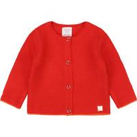 Textiel Meisjes Vesten / Cardigans Carrément Beau Y95225 Rood