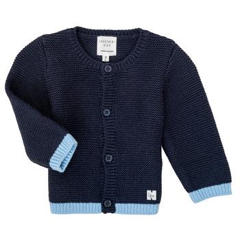 Textiel Meisjes Vesten / Cardigans Carrément Beau Y95230 Blauw