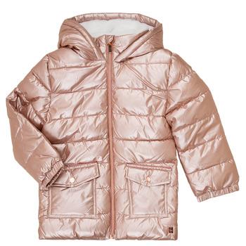 Textiel Meisjes Dons gevoerde jassen Carrément Beau Y16085 Roze