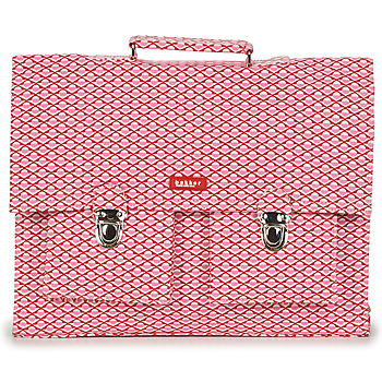 Tassen Meisjes Schooltassen Bakker Made With Love CARTABLE BIG CANVAS Roze