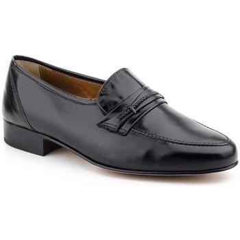 Schoenen Heren Mocassins Nikkoe Shoes For Men Mocasines de hombre de piel by Nikkoe Noir