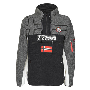 Textiel Heren Fleece Geographical Norway RIAKOLO Zwart
