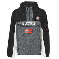 Textiel Heren Fleece Geographical Norway RIAKOLO Grijs / Donker