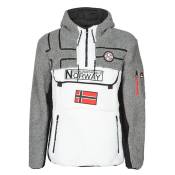 Textiel Heren Fleece Geographical Norway RIAKOLO Wit