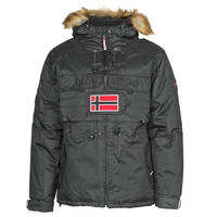 Textiel Heren Parka jassen Geographical Norway BENCH Zwart