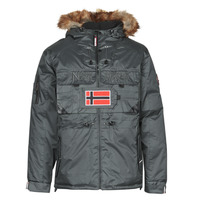 Textiel Heren Parka jassen Geographical Norway BENCH Grijs / Donker