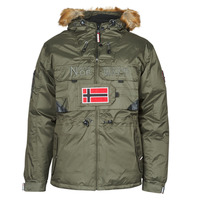Textiel Heren Parka jassen Geographical Norway BENCH Kaki