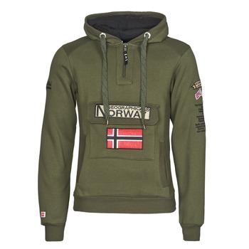 Textiel Heren Sweaters / Sweatshirts Geographical Norway GYMCLASS Kaki