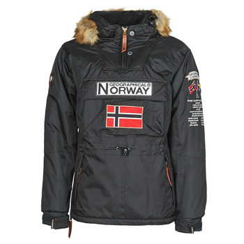 Textiel Heren Parka jassen Geographical Norway BARMAN Zwart