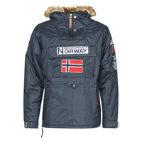 Textiel Heren Parka jassen Geographical Norway BARMAN Marine