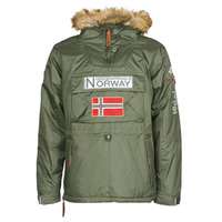 Textiel Heren Parka jassen Geographical Norway BARMAN Kaki