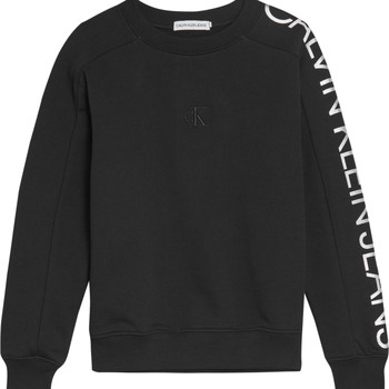 Textiel Meisjes Sweaters / Sweatshirts Calvin Klein Jeans IG0IG00691-BEH Zwart