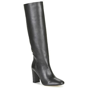 Schoenen Dames Hoge laarzen Jonak Calime Zwart