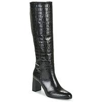 Schoenen Dames Hoge laarzen Jonak DEBANUM Zwart