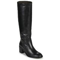 Schoenen Dames Hoge laarzen Jonak MAMELI Zwart