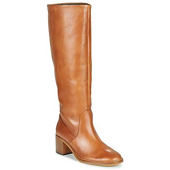 Schoenen Dames Hoge laarzen Jonak MAMELI  camel