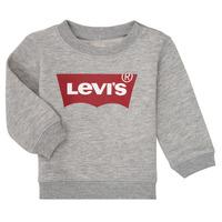 Textiel Jongens Sweaters / Sweatshirts Levi's BATWING CREW Grijs