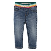 Textiel Meisjes Skinny Jeans Levi's PULLON RAINBOW SKINNY JEAN Blauw