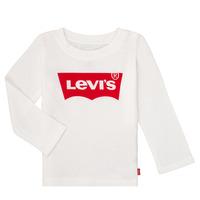 Textiel Meisjes T-shirts met lange mouwen Levi's BATWING TEE LS Wit