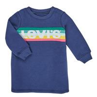 Textiel Meisjes Korte jurken Levi's SWEATSHIRT DRESS Blauw