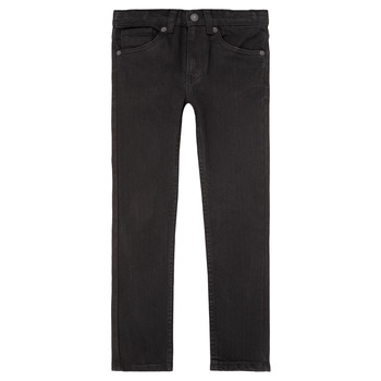 Textiel Jongens Skinny Jeans Levi's 510 SKINNY FIT JEAN Zwart