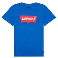 Textiel Jongens T-shirts korte mouwen Levi's BATWING TEE Blauw