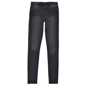 Textiel Meisjes Skinny Jeans Levi's 720 HIGH RISE SUPER SKINNY Zwart