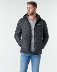 Textiel Heren Dons gevoerde jassen Columbia DELTA RIDGE DOWN HOODED JACKET Zwart