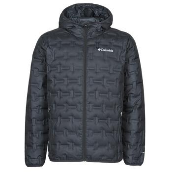 Textiel Heren Dons gevoerde jassen Columbia DELTA RIDGE DOWN HOODED JACKET Zwart