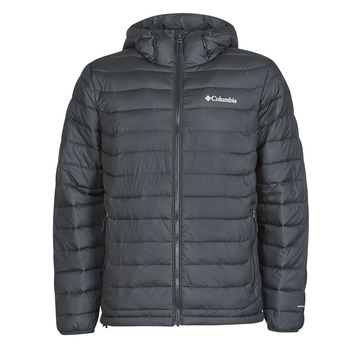 Textiel Heren Dons gevoerde jassen Columbia POWDER LITE HOODED JACKET Zwart