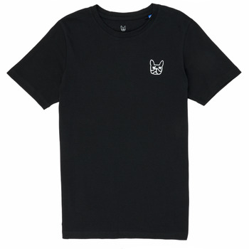 Textiel Jongens T-shirts korte mouwen Jack & Jones JJAARHUS TEE Zwart