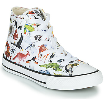 Schoenen Kinderen Hoge sneakers Converse CHUCK TAYLOR ALL STAR - SCIENCE CLASS Wit / Multicolour
