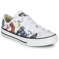 Schoenen Kinderen Lage sneakers Converse CHUCK TAYLOR ALL STAR - OX Wit / Multicolour
