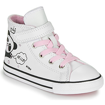Schoenen Meisjes Hoge sneakers Converse Chuck Taylor All Star 1V - Notes from BFF Wit