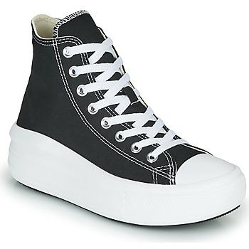 Schoenen Dames Hoge sneakers Converse Chuck Taylor All Star Move Canvas Color Hi Zwart
