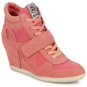 Schoenen Dames Hoge sneakers Ash BOWIE Roze / Pastel
