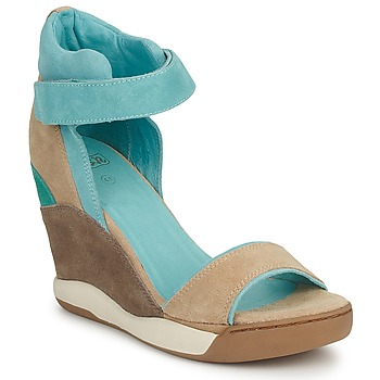 Schoenen Dames Sandalen / Open schoenen Ash HELOISE Brown / Blauw