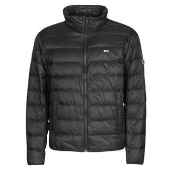 Textiel Heren Dons gevoerde jassen Tommy Jeans TJM PACKABLE LIGHT DOWN JACKET Zwart