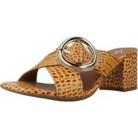 Schoenen Dames Leren slippers Alpe 4694 56 Bruin
