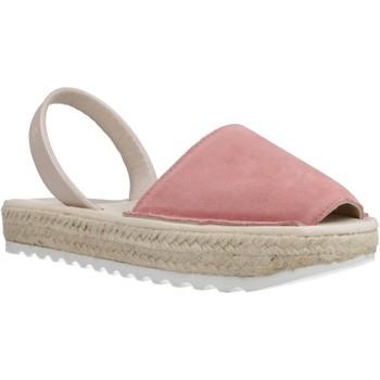 Schoenen Meisjes Espadrilles Ria 21920 2 Roze