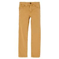 Textiel Jongens Skinny jeans Name it NKMTHEO  camel