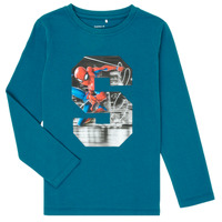 Textiel Jongens T-shirts met lange mouwen Name it NMMSPIDERMAN Blauw