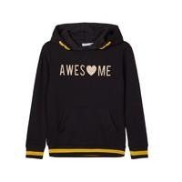 Textiel Meisjes Sweaters / Sweatshirts Name it NKFLABELLAS Zwart