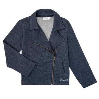 Textiel Meisjes Sweaters / Sweatshirts Name it NKFLIBRORG Marine