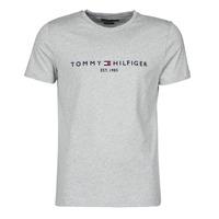Textiel Heren T-shirts korte mouwen Tommy Hilfiger TOMMY LOGO TEE Grijs