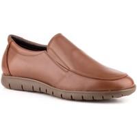Schoenen Heren Mocassins Carlo Garelli Shoes Zapatos mocasines de piel de hombre by Carlo Garelli Marron