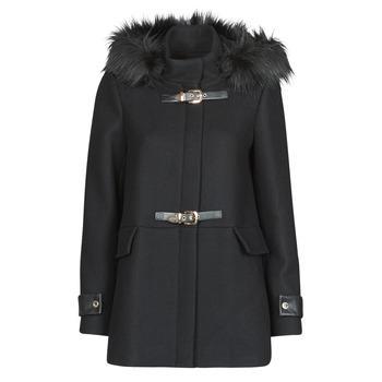Textiel Dames Mantel jassen Morgan GCALIS Zwart