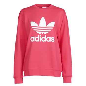 Textiel Dames Sweaters / Sweatshirts adidas Originals TRF CREW SWEAT Roze