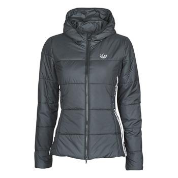 Textiel Dames Dons gevoerde jassen adidas Originals SLIM JACKET Zwart