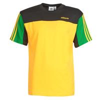 Textiel Heren T-shirts korte mouwen adidas Originals CLASSICS SS TEE Goud